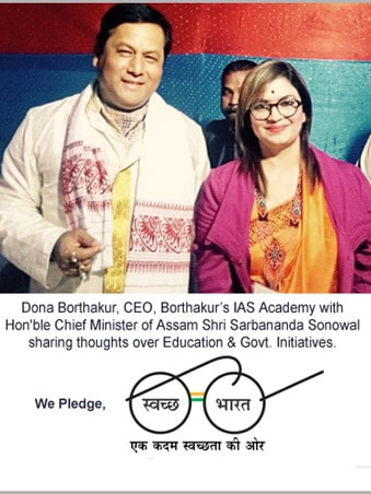 BIAS CEO with Hon. Chief Minister of Assam